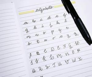 alphabet, book, and caderno image