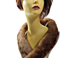 etsy, fur collar, and plush image