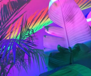 rainbow, neon, and grunge image
