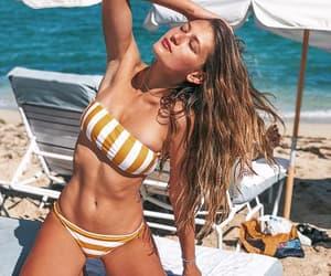beach, beauty, and corpo image