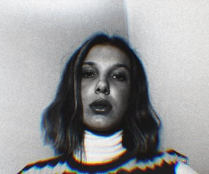 millie bobby brown, icons, and filtered image