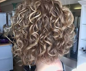 beautiful, blonde, and curly image