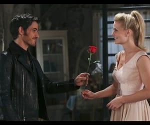 captain swan, emma swan, and once upon a time image