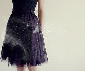 skirt, dress, and black image