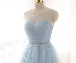 prom dress, blue prom dress, and prom dress for cheap image