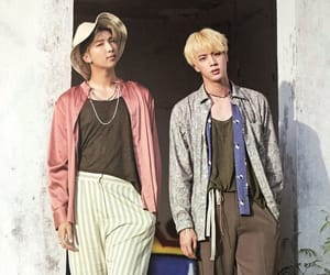 jin, bts, and namjin image