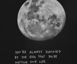 gif, moon, and quotes image
