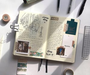 diary and bullet journal image