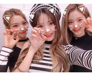chaeyoung, jiheon, and fromis image