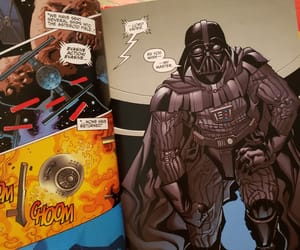 comic book, my photography, and star wars image
