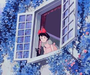 animation, cute girl, and Hayao Miyazaki image