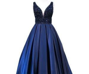 simple prom dress, prom dress for cheap, and modest prom dress image