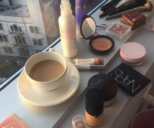 coffee and makeup image