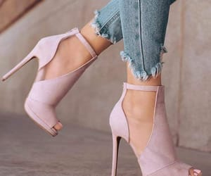 chaussures, heels, and pink image