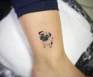 tattoo and pug image