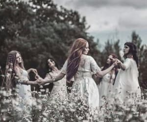 witchy, women, and wicca image