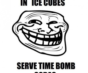 funny, mentos, and trolling image