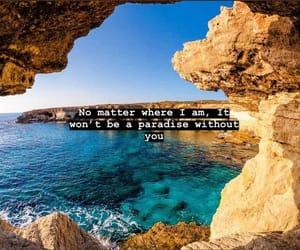 beach, mar, and paradise image