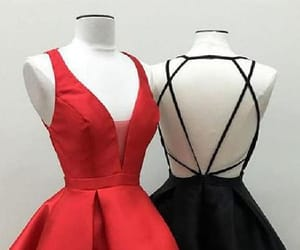 sexy prom dresses, prom dresses black, and short homecoming dresses image