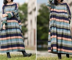 etsy, cotton dress, and maternity dress image