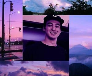 aesthetics, purple, and cute image