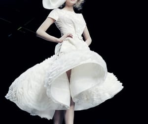 fashion, dress, and Christian Dior image