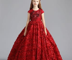 little girl dress, 2019, and best dress image