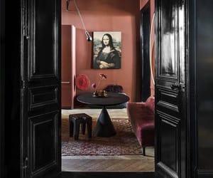 home, livingroom, and mona lisa image