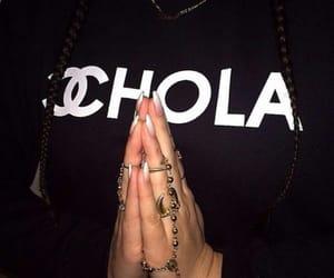 black, chanel, and chola image