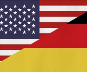 america, flag, and germany image