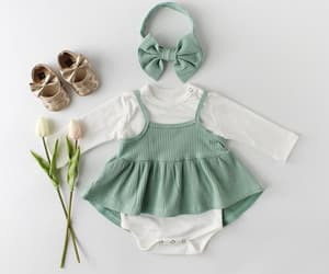 baby, clothing, and dresses image