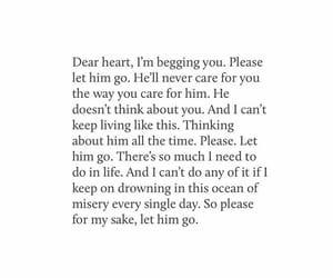 care, heart, and heartbreak image