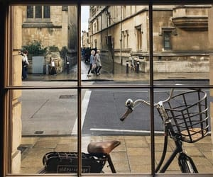 bicycle, england, and oxford image
