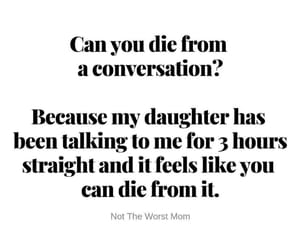 daughter, mom life, and funny image