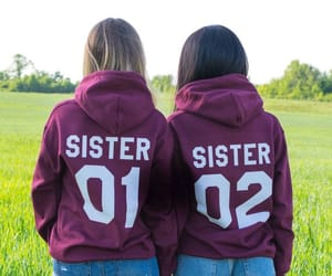 etsy, matching hoodies, and sister gift image