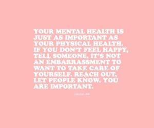 awareness, health, and mental image