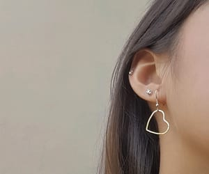 earrings, jewelry, and minimalist image
