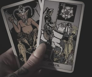 cards, dark, and Darkness image