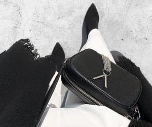 black, classy, and dress image