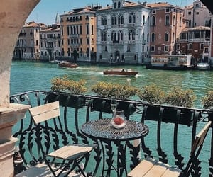 travel, venice, and aesthetic image