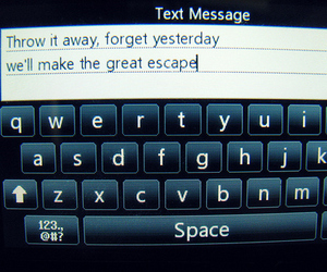 boys like girls, escape, and text image