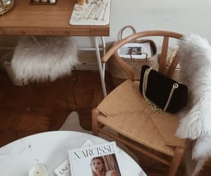 accessories, magazines, and beauty image