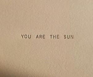quotes, sun, and words image