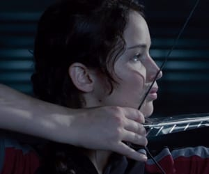Jennifer Lawrence, screencap, and the hunger games image