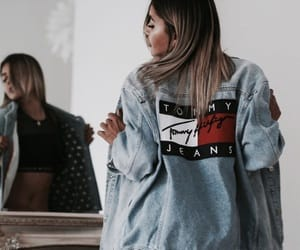 fashion, tommy hilfiger, and tommy jeans image