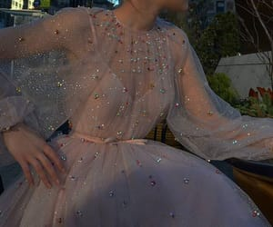 dress, aesthetic, and sparkle image
