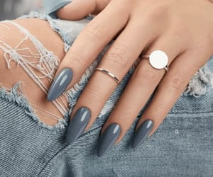jeans, jewellery, and nails image