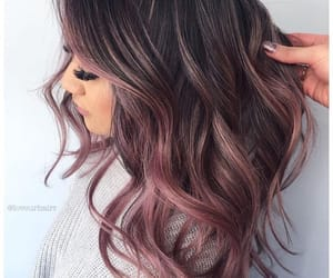 hair, colored hair, and hairstyles image