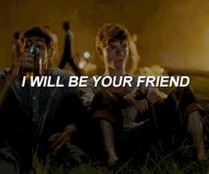 gif, the maze runner, and friends image