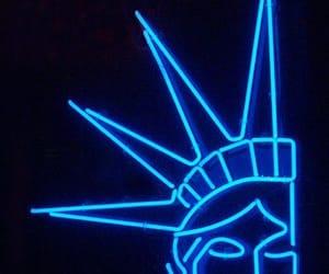 aesthetic, liberty, and neon image